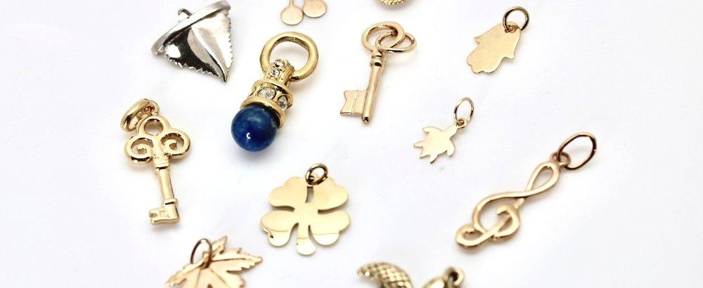ajoutez vos charms - Mixez les charms pour obtenir un bijou qui vous ressemble.