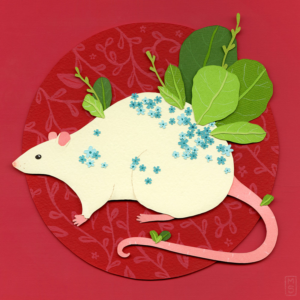 """Leafy Rat"""