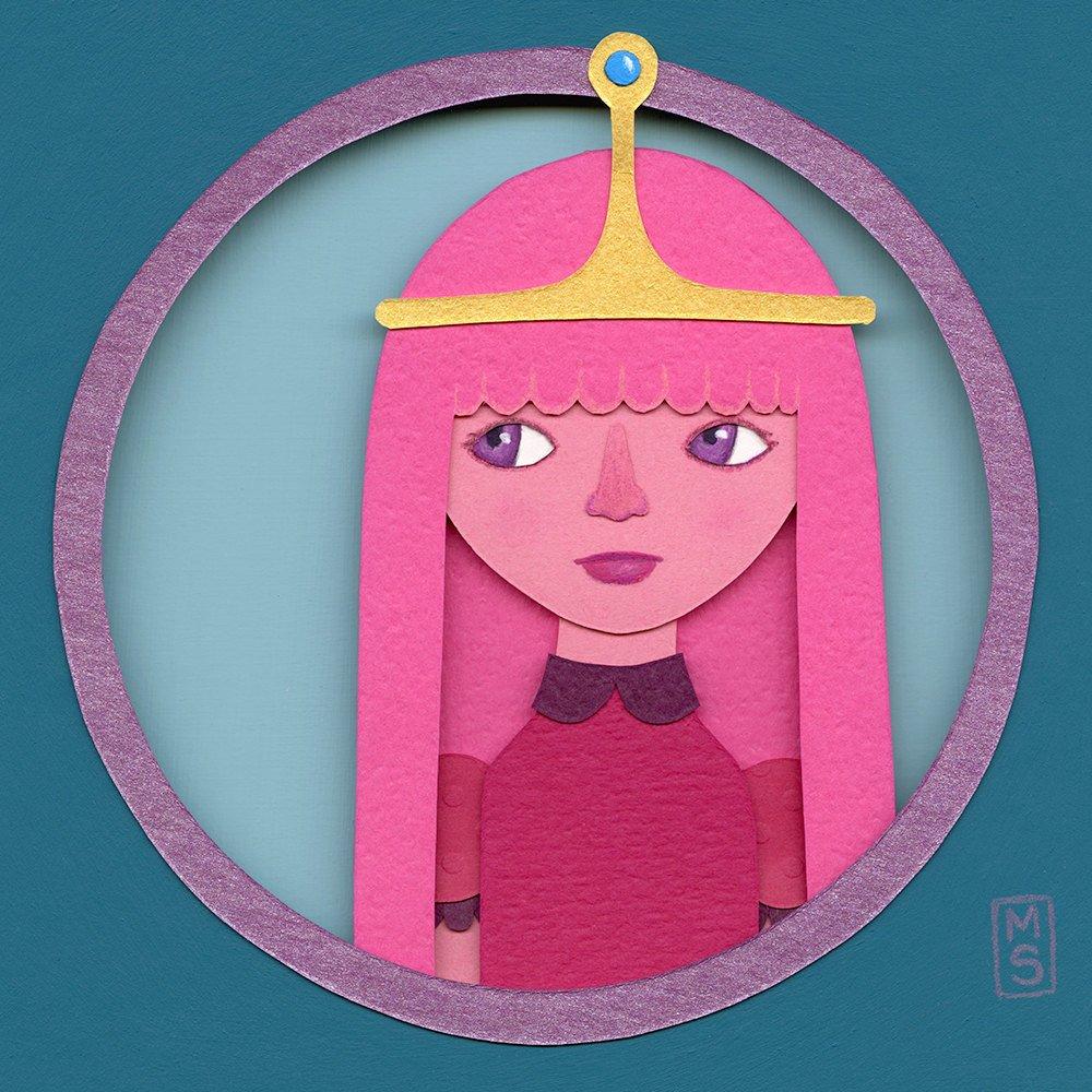 Princess Bubblegum - $135