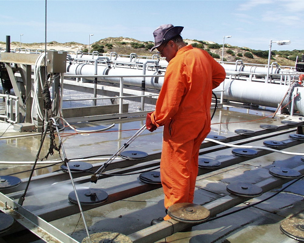 Our services - Our team of expert technicians are available to monitor, install and clean fine bubble air diffusers at wastewater treatment plants in AustraliaLearn more