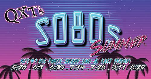 EVERY 2ND & LAST FRIDAY OF THE MONTH! - 80'S CLASSICS