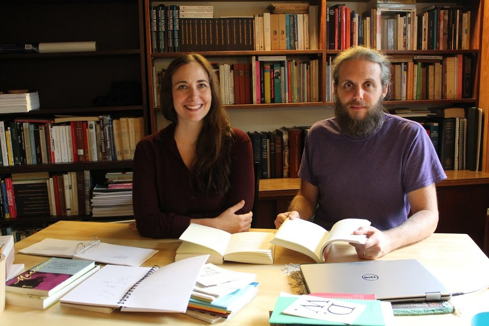 Pictured above: Michelle Gil-Montero and Román Antopolsky, co-editors of Eulalia Books.