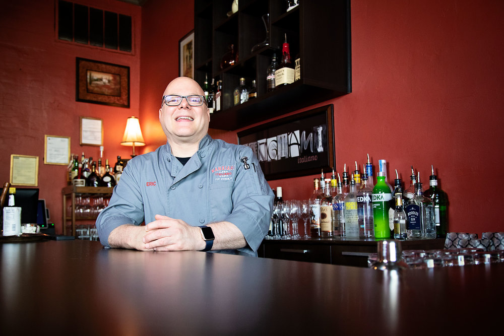 Chef and owner, Eric Webber.