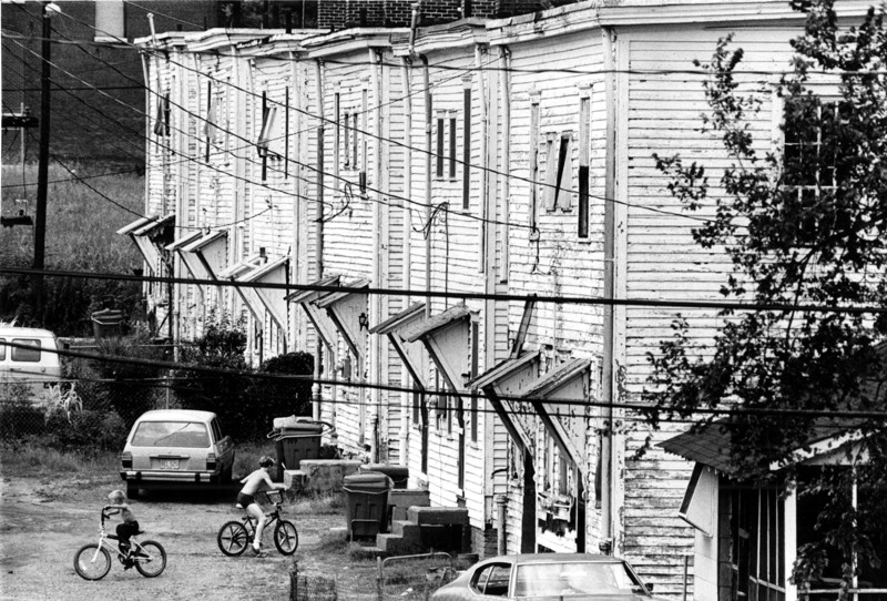 A view of the neighborhood from the 1970s. Courtesy John Spink, AJC