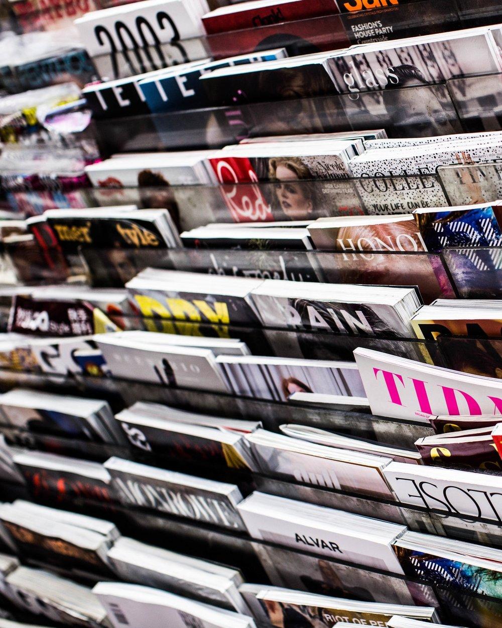 List of Publications -
