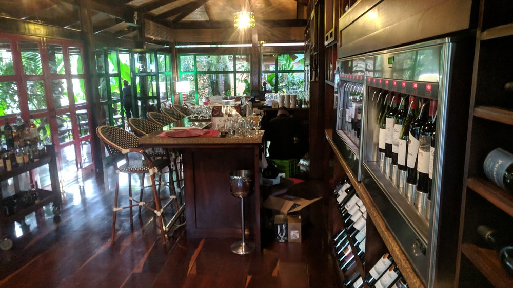 There was also a nice wine bar on the property (pretty close to the main pool).