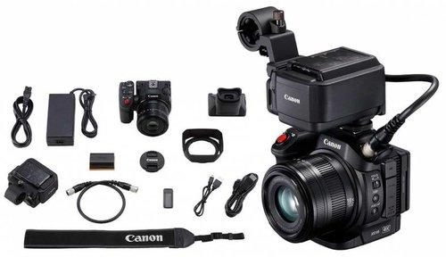 CONTENTS - 1. Canon XC152. Rhode Video Mic Pro+ shotgun microphone3. Sennheiser AVX kit (handheld + lavalier)4. Tripod5. USB3 reader
