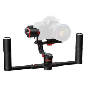 GIMBAL A2000 DUAL HANLDE - This 3-axis stabilizer makes an easy solution for creating movement in your video. It also allows a number of creative shots with a minimal setup and preparation time.