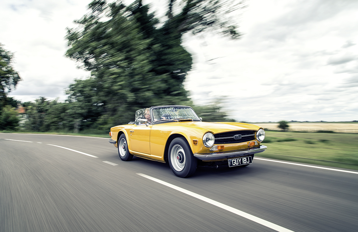 Market Watch: Triumph TR6 loses power — Classic Cars Magazine
