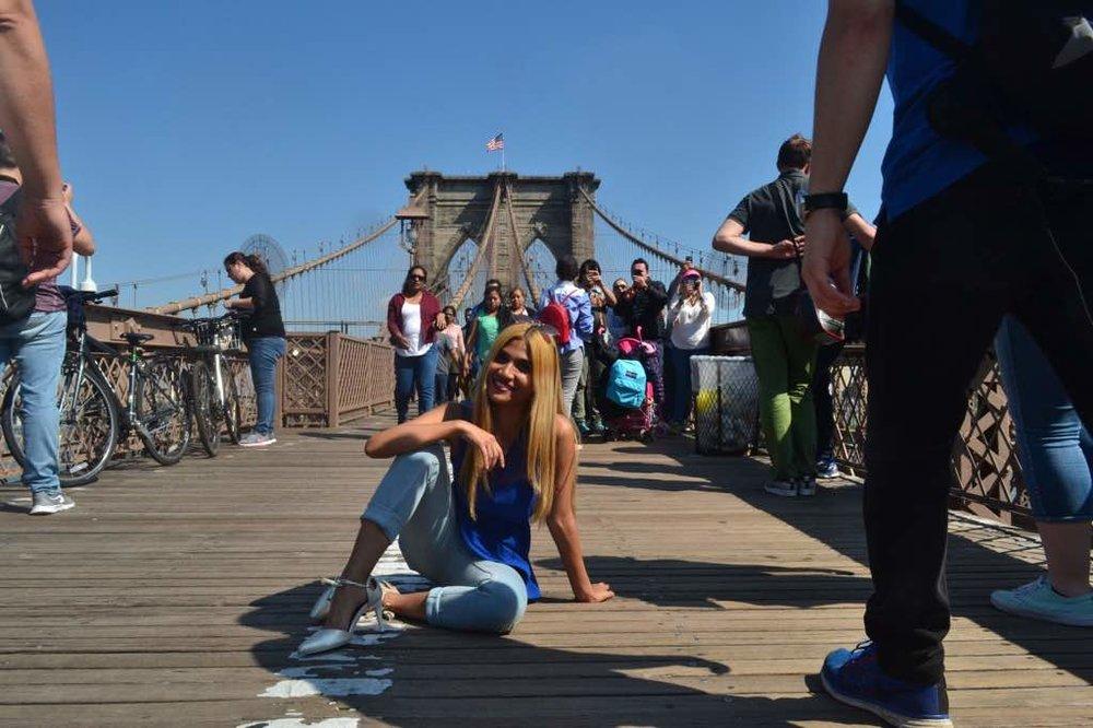 Elsa John in New York
