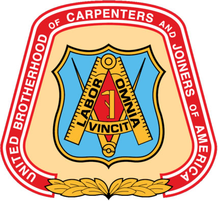 We are proud to be Union Carpenters.