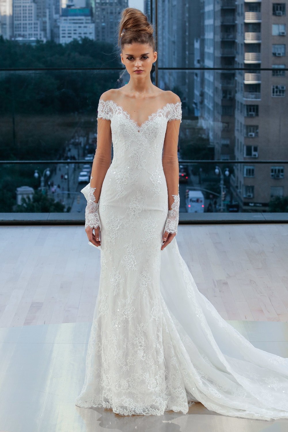 Bridal Fall 2018 Couture   GRAMERCY    INQUIRE