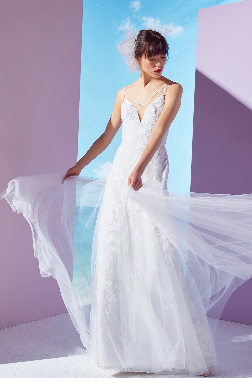 Ines by Ines Di Santo Bridal Spring 2019   PHOEBE    INQUIRE