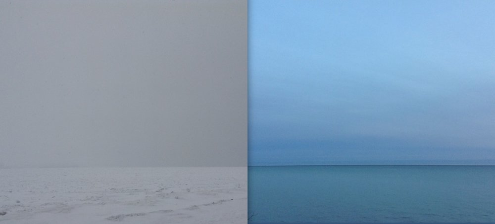 Susan Fothergill - Lake Ontario Gray and Blue 2017
