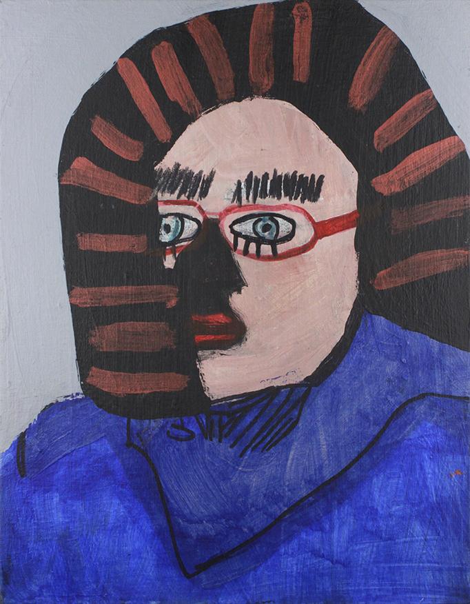 LadyBug-SelfPortrait-AcrylicAndMarker-11x14canvaspanel.png