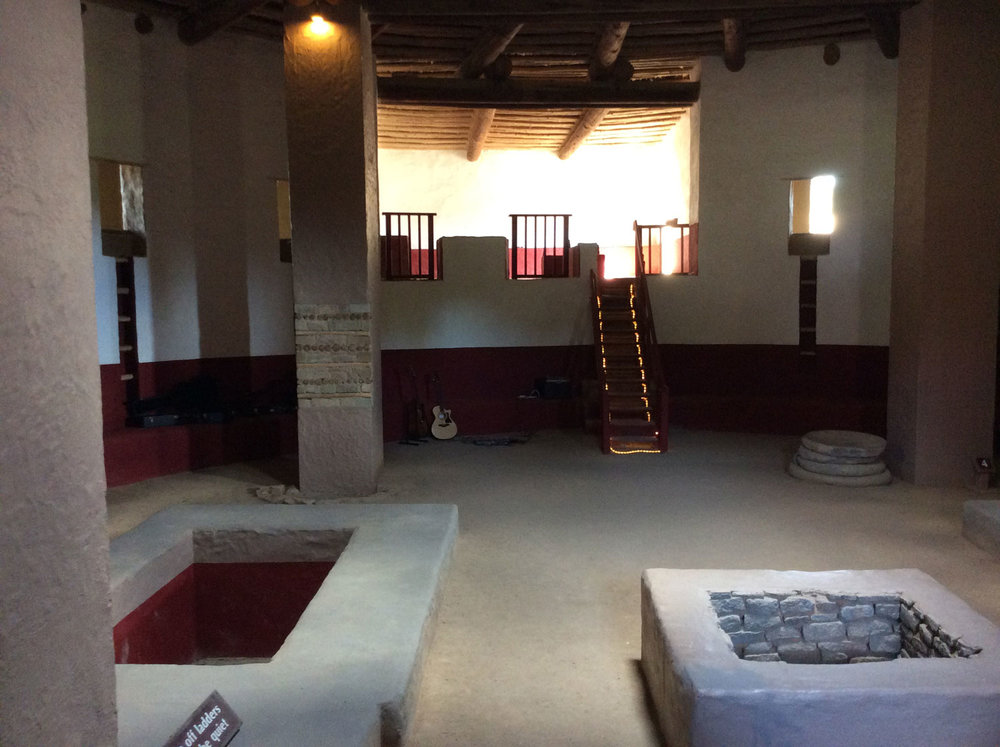 Great Kiva--Aztec Ruins National Monument, 2017