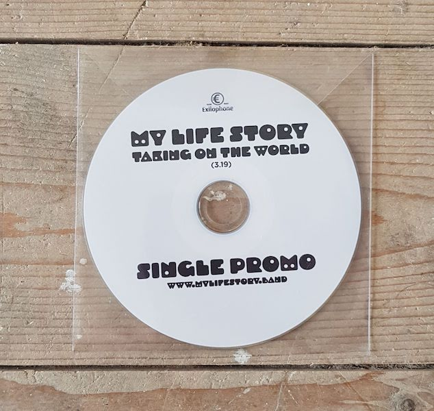 Taking On The World Promo CD Single — My Life Story
