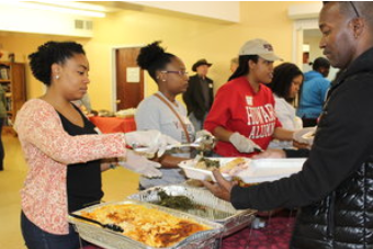 $25 - A week of hot meals to three clients at our Drop-In Resource Center.