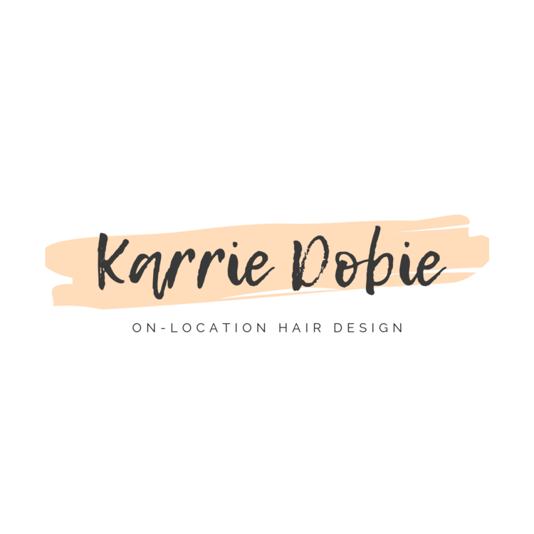 On-Location Hair Design by Karrie Dobie