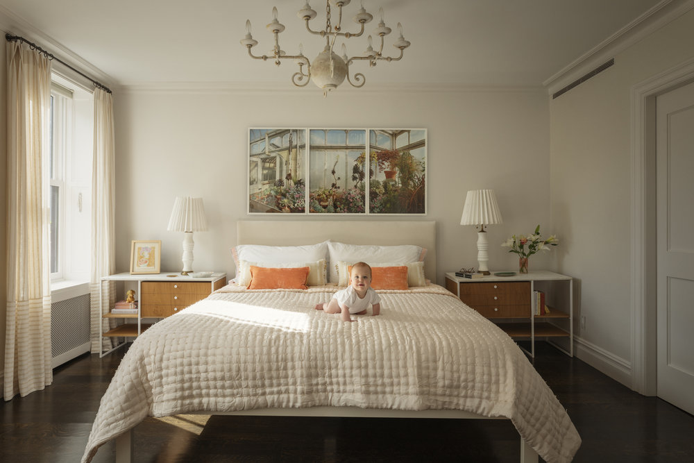 Lauren Stern Design Master Bedroom Brooklyn Brownstone