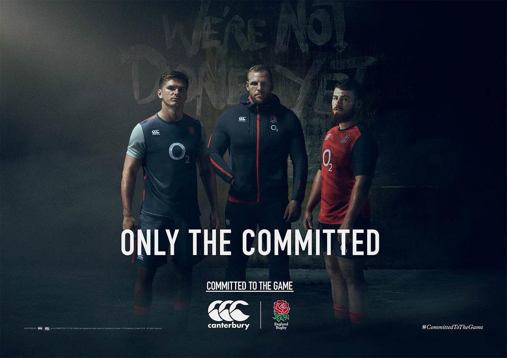 English Rugby / Canterbury Clothing