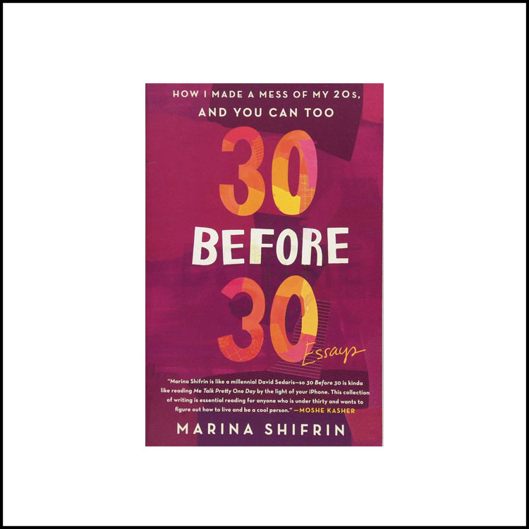 30 BEFORE 30 -