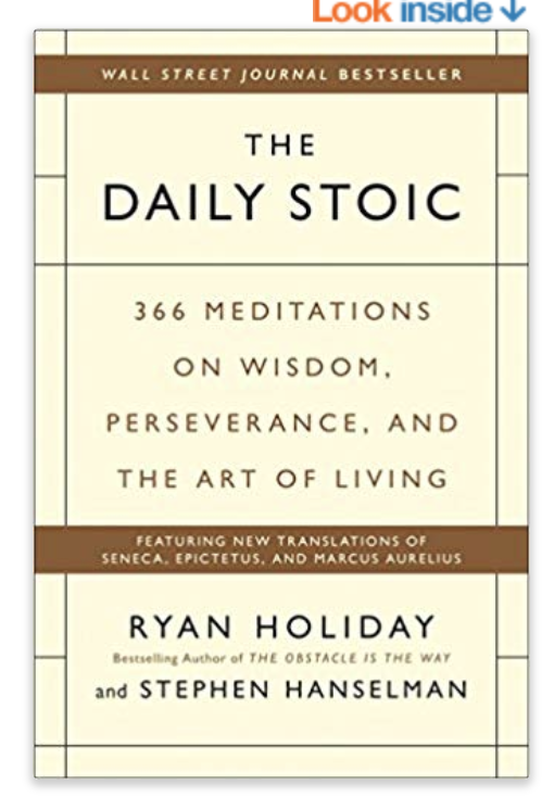 THE DAILY STOIC -