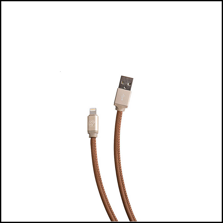 LEATHER IPHONE CORDS -