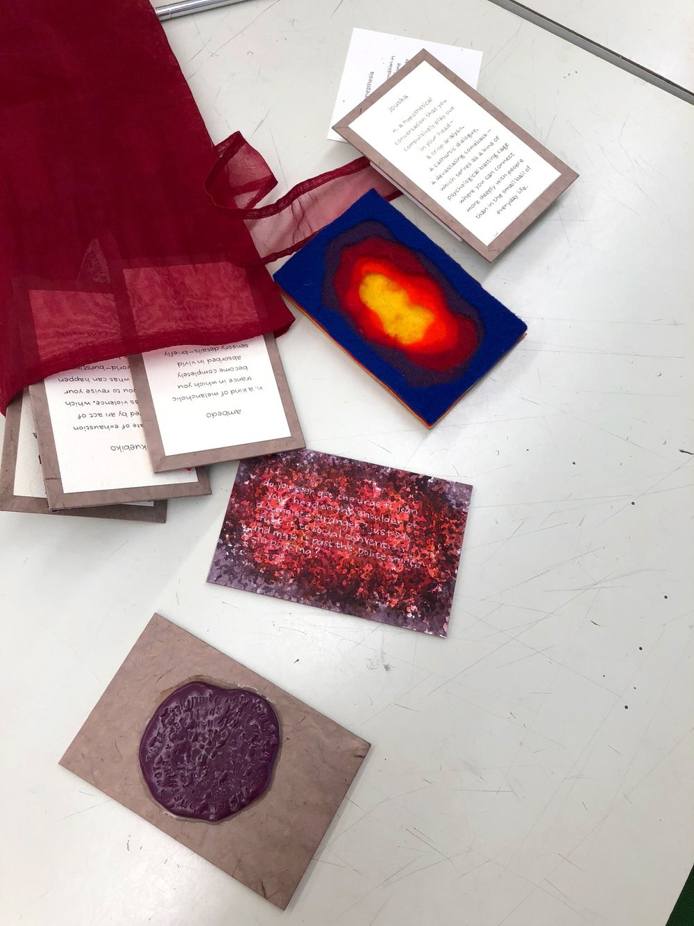 Contents of Synesthesia Bag