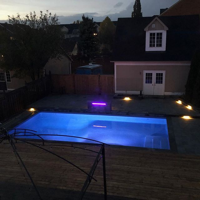 I'm pretty sure you can see this one from space! #coolpools