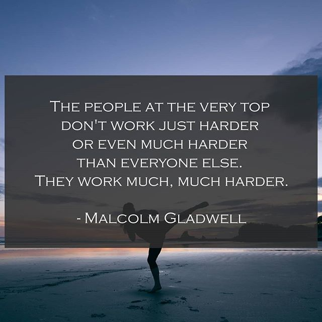 To get elite results, you need to have an elite mindset. You have to be willing to go to places mentally and physically that most people won't. It's the only way. An average effort will yield average results. I'm not here for average.  #outliers #malcolmgladwell #psychology #mindfulness #goals #philosophy #book #quote #achievement