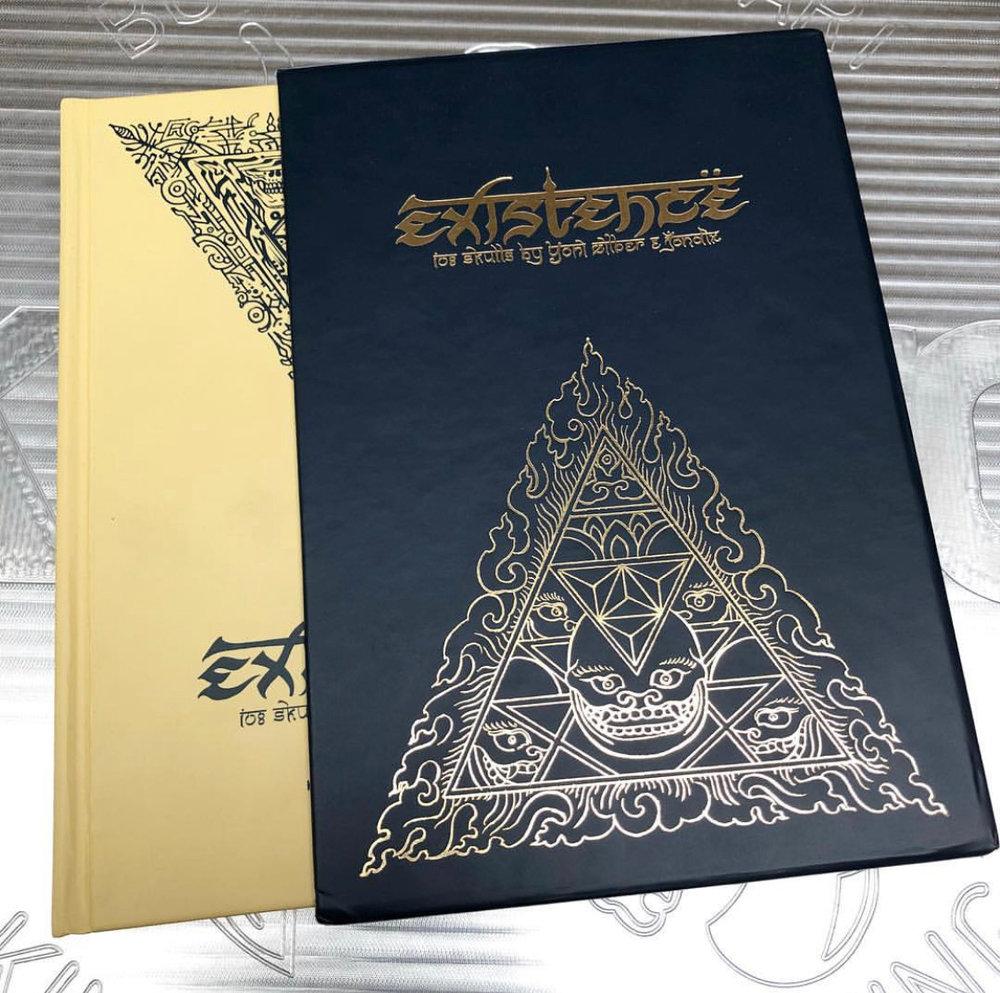 EXISTENCE BY YONI ZILBER & JONDIX - PAYPAL YONI@YONIZTATTOO.COM$75 + $10 SHIPPING US $20 INTERNATIONAL