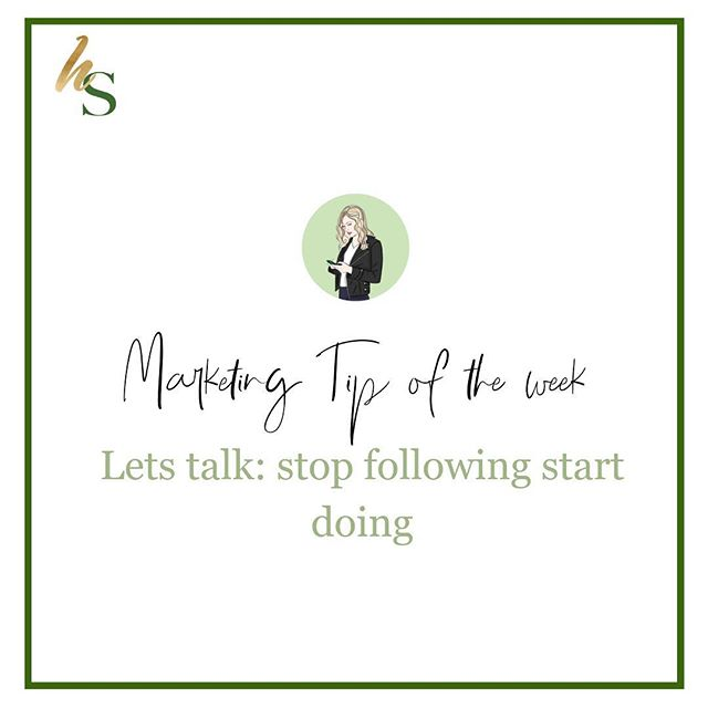 Is this you? 👇🏻  🌿the follow/unfollow game STOP wasting your time. Follow people that are like minded to network, make time to do competitor research, but don't follow just to unfollow. Focus on connecting with like minded people, following people you can learn from, and YOUR TARGET AUDIENCE.  🌿Are you trying to do everything that sally is doing? Yes it's smart to do competitor research but YOU have a personality, you are the person behind the brand and you need to show that instead of doing everything that everyone else is doing.  🌿It can be confusing to grow your audience, to be on point with your digital marketing, to show your personality through your copy and visual aesthetic which is why we create a Facebook community so you could have support and a community going through the same thing! Comment below or message us for the link! 🖤  How are you going to show your personality behind YOUR brand this week? 👇🏻🌿