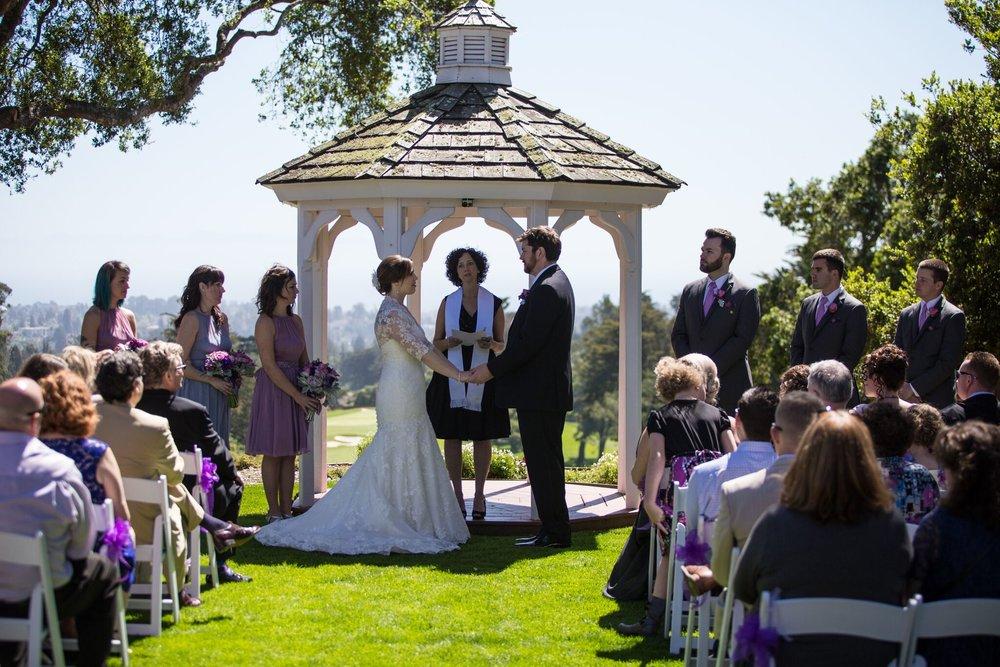 Nonreligious Wedding Ceremony at Hollins House at Pasatiempo.JPG