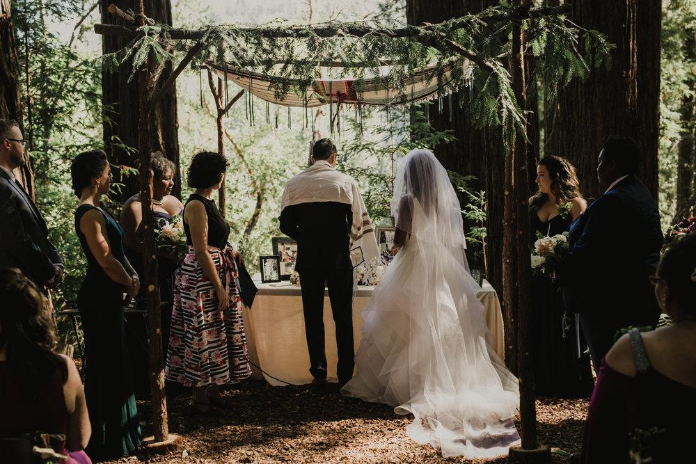African, Jewish, Fall Equinox Wedding Ceremony In The Redwoods.jpg