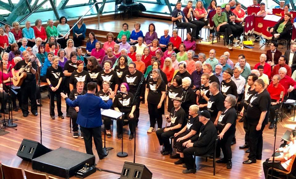 End of Year Concert 2018, at Deakin Edge, Federation Square