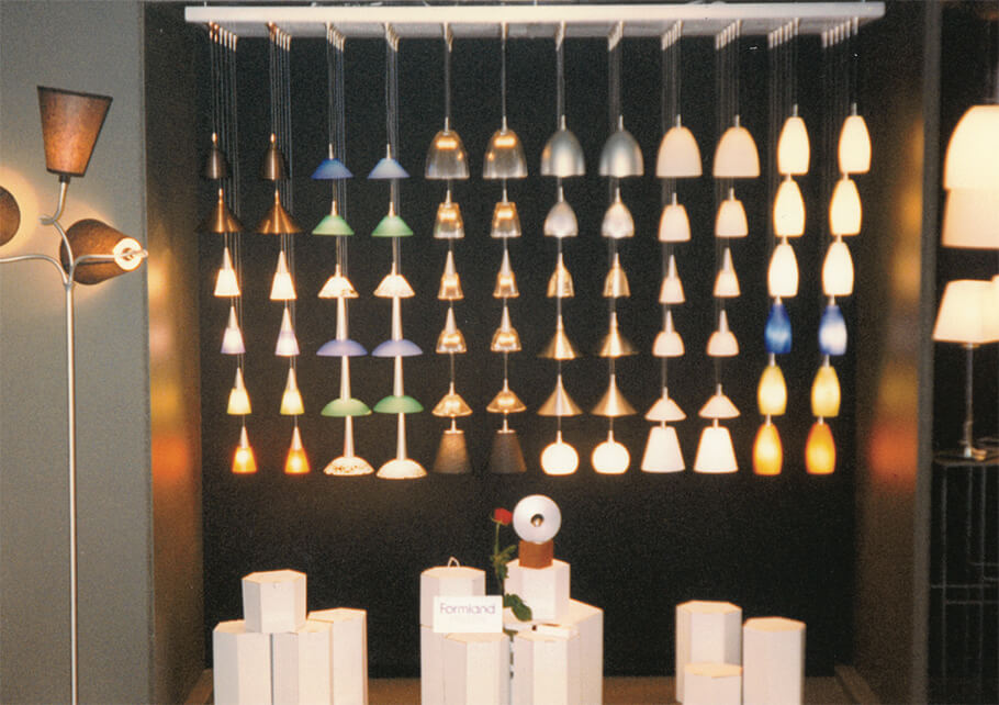 1998: Formland Design Prize - Benny Frandsen wins the Formland Design Prize for the Flyer series (halogen lighting).