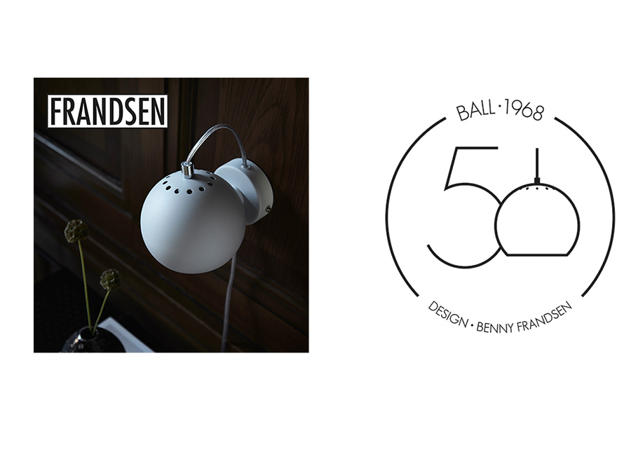 2018: 50th Anniversary - Benny Frandsen and the iconic Ball series celebrate their 50th anniversary.