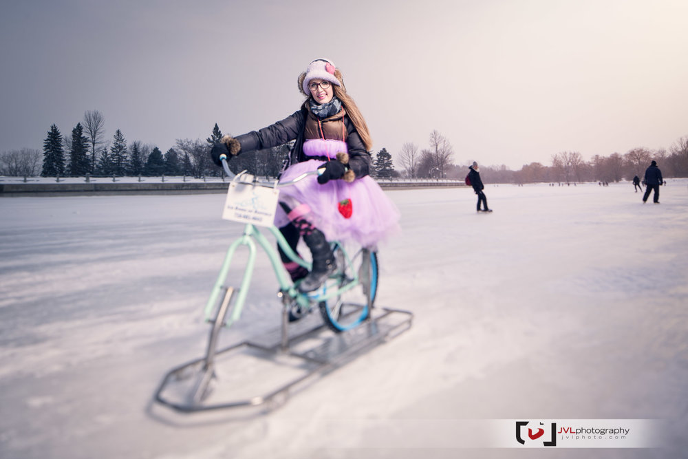 We dreamt up this fun project to showcase the Ottawa Canal, Fashion, and the Ice Bikes of Buffalo. In order to have all this fun we brought together the amazing VJ Ina from  XOVELO  to help style the models she brought. Then we paired up with the super talented  Justin Van Leeuwen  to help capture the moments.