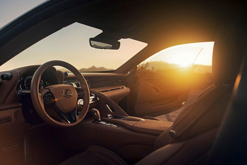 - Lexus LC500
