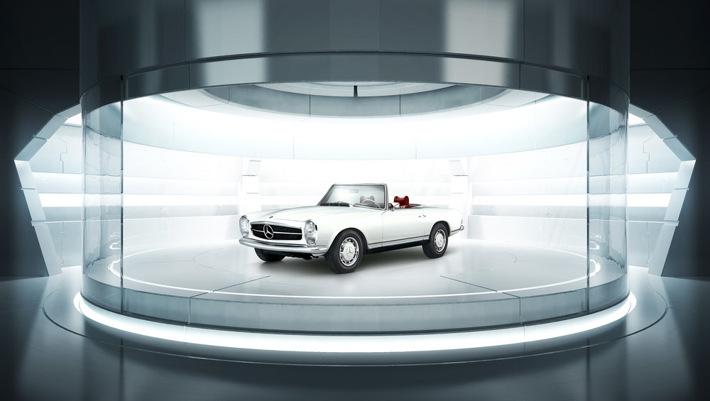 - Mercedes-Benz SL280 Pagoda