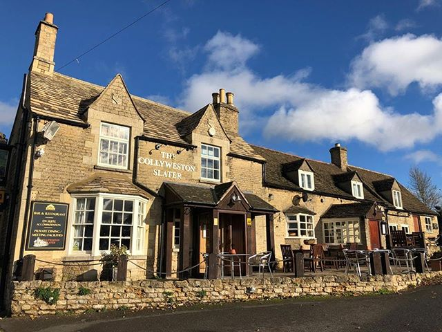We love our traditional coaching inn dating from the 17th century in the heart of the picturesque village of Collyweston. Just 5 miles from Rutland Water and only 3 miles from the historic market town of Stamford. Come and see us soon - great food and drink, accommodation and customer service.