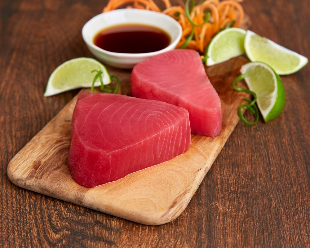 Tasteless Smoke Tuna Steaks