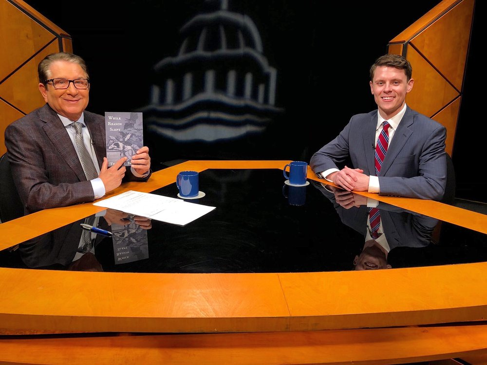 Tom with Dr. G. Terry Madonna on  Pennsylvania Newsmakers .