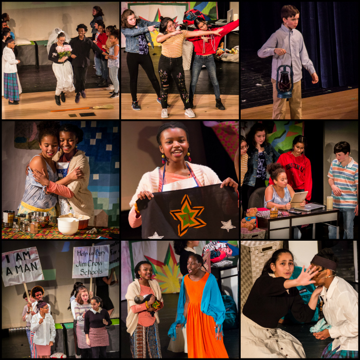 SHow Way production 2019 - Cast members presented a powerful performance of Show Way, written by Melody Cooper. A story that teaches the lesson that we all have the strength of our ancestors and friends to draw upon to get us through difficult times.