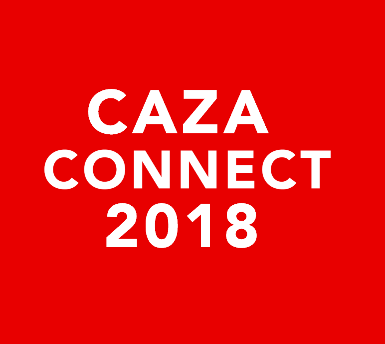 CAZA Connect 2018   March 15, 2018  Reston, VA