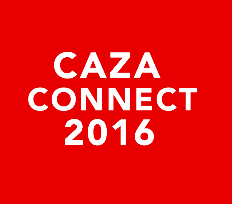 CAZA Connect 2016   March 21, 2016  Reston, VA