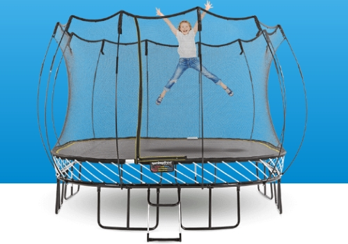 trampolines - Safe, quality, innovative trampolines in multiple sizes. Click on the picture for more information.
