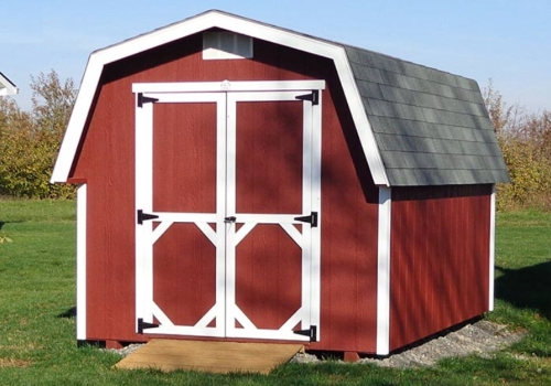 BARN STYLE BUILDINGS - The perfect place to start if you're looking for affordable storage. Click on the picture for more information.