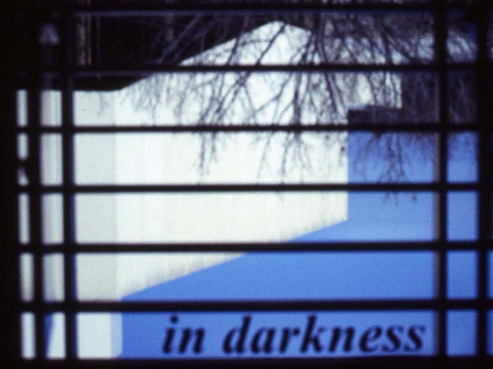 ...even in a room full of darkness, 2005